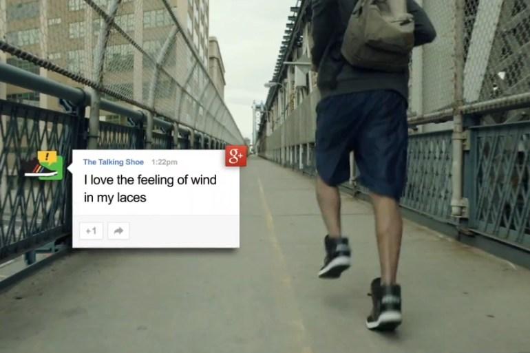 Google + Adidas = Talking Shoes 21 - Google