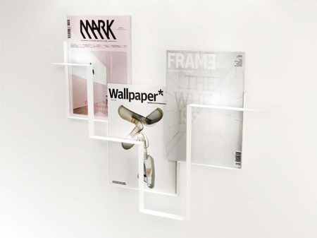 guidelines by Frederik Roije 3 450x337 Wall Magazine Holder Guidelines ชั้นวางหนังสือสไตล์เรียบง่าย Minimalist