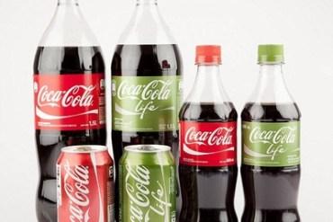 Green Coke with natural sweetener stevia 18 - Coca-Cola