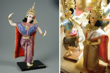 Bangkok Dolls Factory & Museum พิพิธภัณฑ์บ้านตุ๊กตา