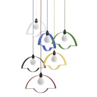 โคมไฟ 2มิติ ช่วยสร้างบรรยากาศการ์ตูนๆให้การตกแต่งภายใน 31 - Lamp