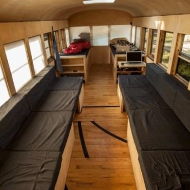 เมื่อนักศึกษาสถาปัตย์เปลี่ยนรถโรงเรียนเก่า เป็นบ้านเคลื่อนที่ เดินทางไปทั่วสหรัฐอเมริกา 16 - รีไซเคิล
