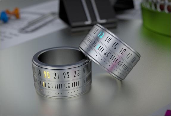 Ring Clock..แหวนนาฬิกา โดยSzikszai Gusztáv 23 - gadget