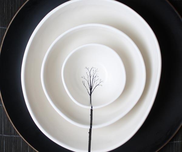 Nesting Bowls..ชุดชามแนวเซ็น เรียบๆแต่สวย มีความหมาย 13 - nesting bowls