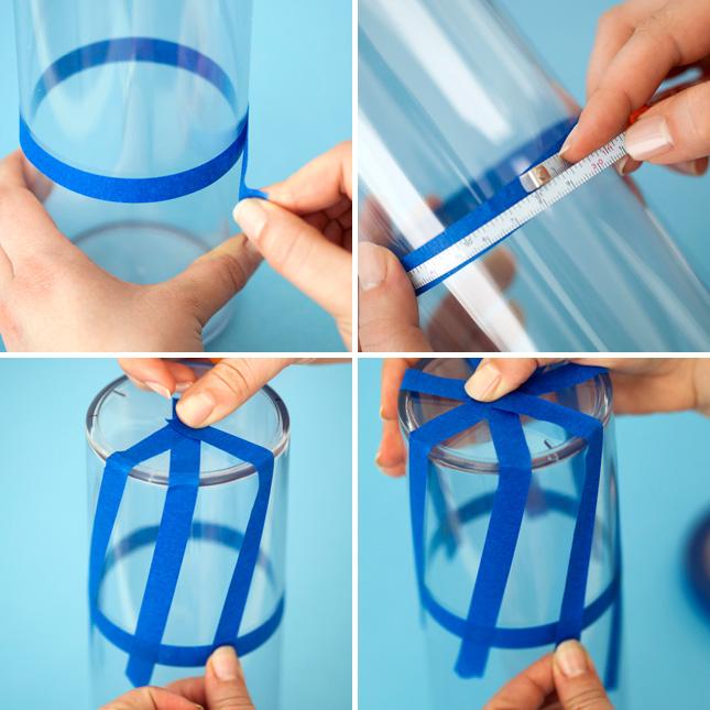 rainbow taping DIY.Pop Up Pencil Holders ที่ใส่ดินสอแสนน่ารัก 3 แบบ