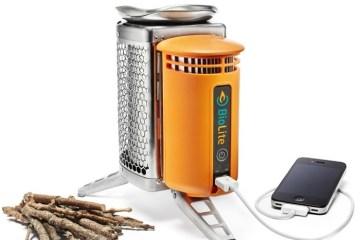 BioLite CampStove..ชาร์ตมือถือด้วยเตาแค้มปปิ้ง ใช้พลังงานจากกิ่งไม้ 4 - BioLite