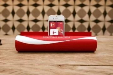 เลียนแบบโฆษณา Coca-Cola FM radio ..ทำลำโพง Smart Phone จากนิตยสาร 4 - COKE