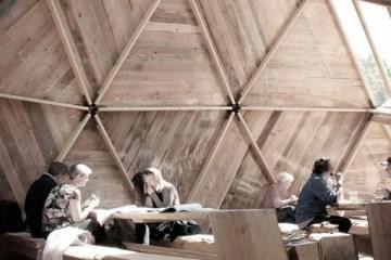 Peoples Meeting Dome โดมสำหรับพื้นที่สาธารณะ ที่สามารถสัมผัสธรรมชาติได้อย่างใกล้ชิด 12 - Peoples Meeting Dome