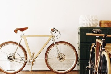 WOOD.b wooden bicycles by BSG bikes