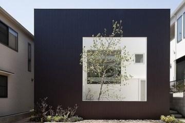Frame House ..บ้านใส่กรอบ โดย Uid Architects & Associates