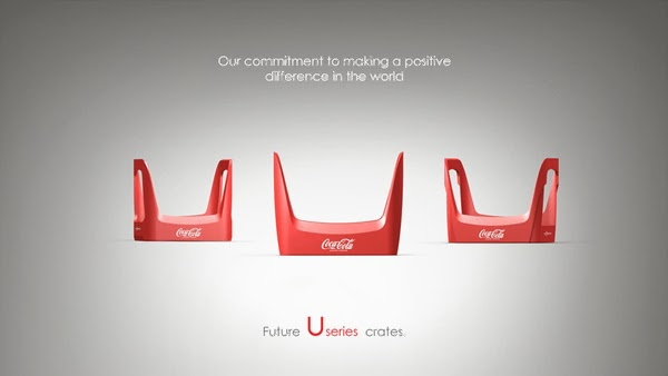 Coke future crate 01 Coca cola  Eco Bottle Containers