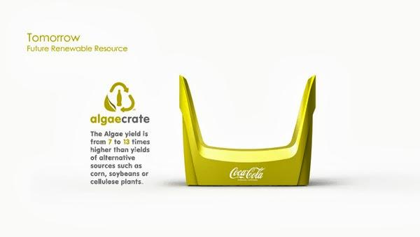 Coke future crate 20 Coca cola  Eco Bottle Containers