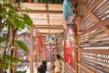 แสงสว่างเล็กๆในพื้นที่ชุมชนคลองเตย  4 - Architecture