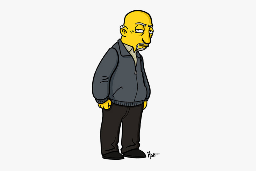 breaking bad simpsons db07 Breaking bad characters illustrated like the simpsons