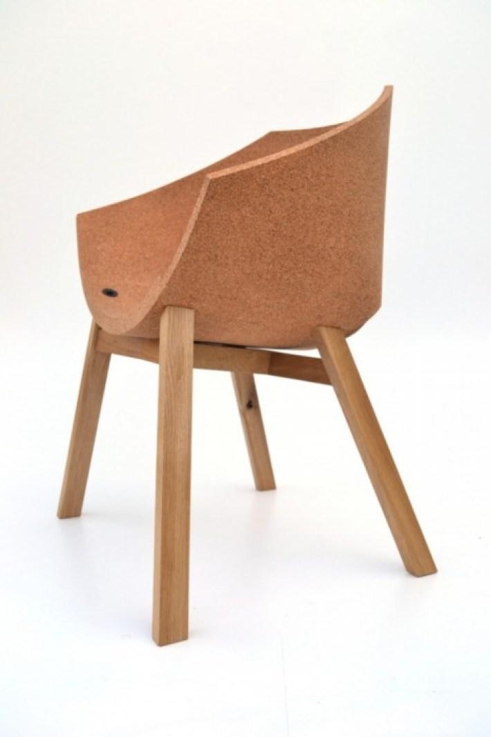corkigami by carlosortegadesign 10 1 The Corkigami Chair
