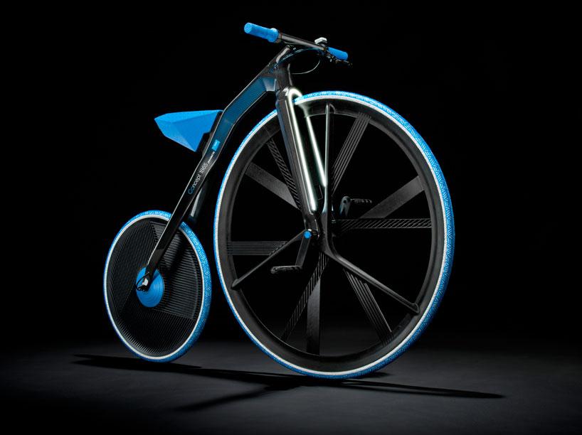 ding300 electric velocipede designboom03 Velocipedes,จักรยานยุค 1865 กับวัสดุไฮเทค