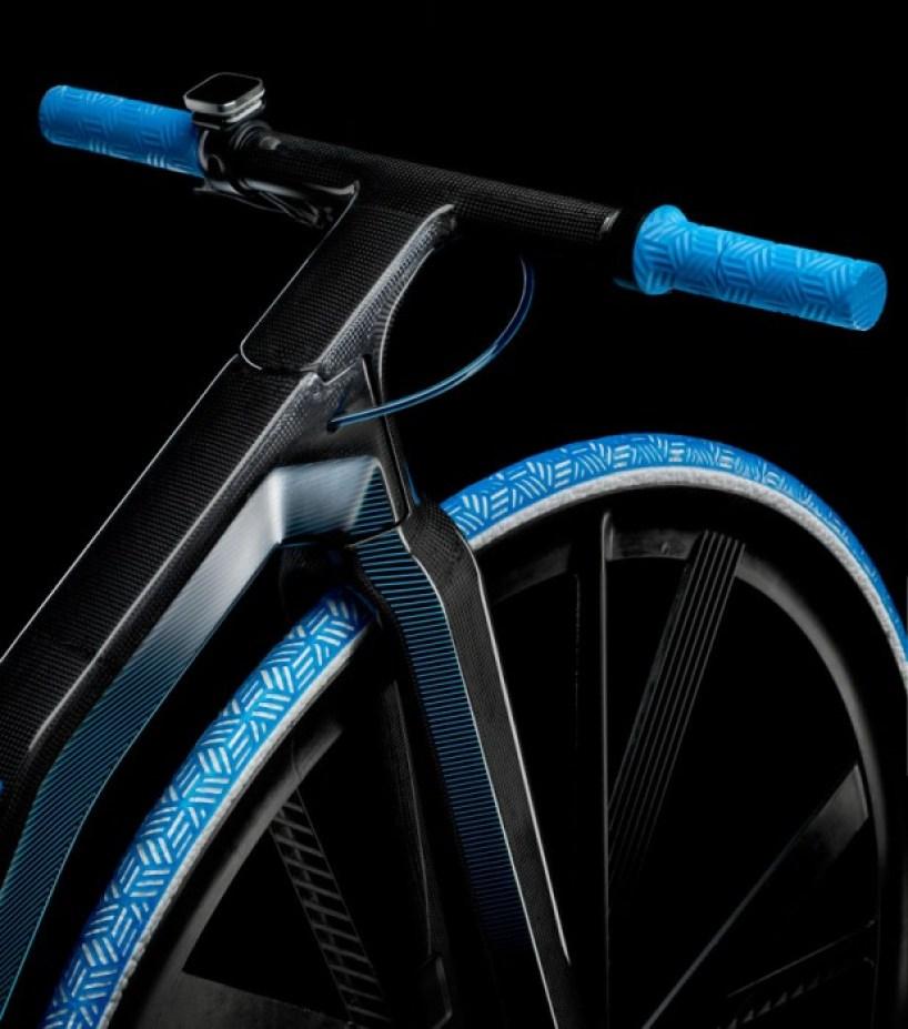 ding300 electric velocipede designboom07 Velocipedes,จักรยานยุค 1865 กับวัสดุไฮเทค