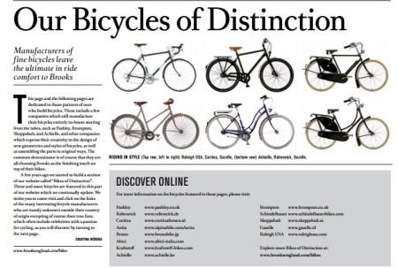 sdwe 450x303 Brooks England หนังสือพิมพ์ฉบับคลาสสิกสำหรับคนรักจักรยาน