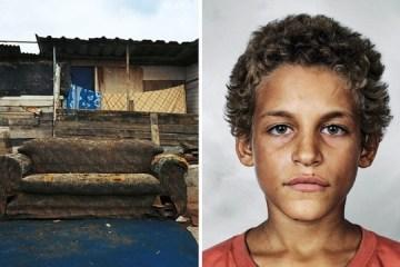 ภาพถ่ายเด็กๆทั่วโลก และที่ที่พวกเขาหลับนอน 12 -