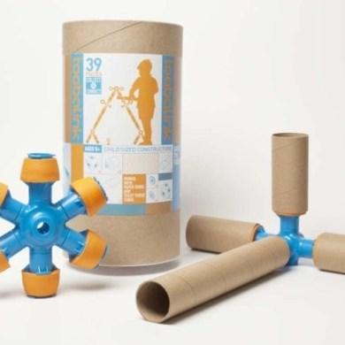 Toobalink ของเล่นที่เปลี่ยนขยะ เป็นสิ่งเติมเต็มจินตนาการให้เด็กๆ 16 - cardboard tubes