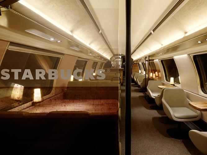 3021630 slide swiss train 2 The train is hiding a Starbucks store inside