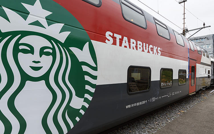 3021630 slide swiss train 4 The train is hiding a Starbucks store inside