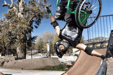 When life gives you a wheelchair, find a skatepark