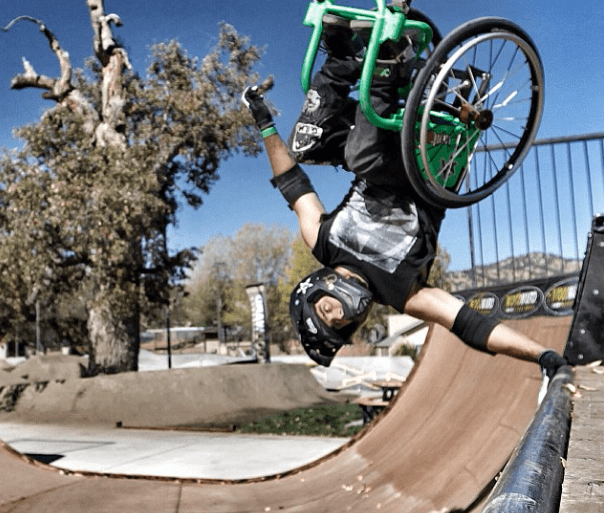 When life gives you a wheelchair, find a skatepark 13 - extreme