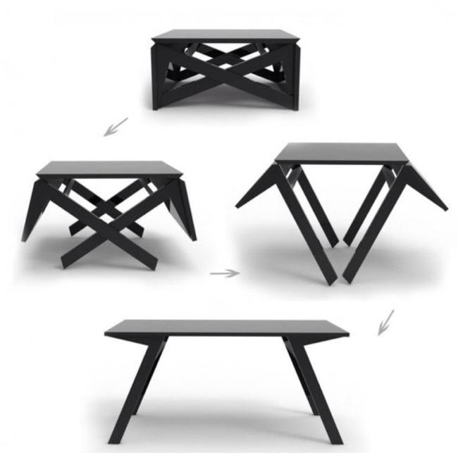 โต๊ะรับแขก ที่เปลี่ยนเป็นโต๊ะทานข้าวได้ง่ายๆ 13 -