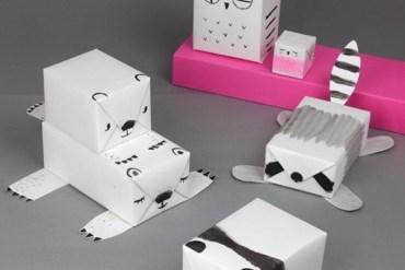 DIY Animal Gift Wrap..ห่อของขวัญเป็นสัตว์น่ารักๆ 30 - Gift