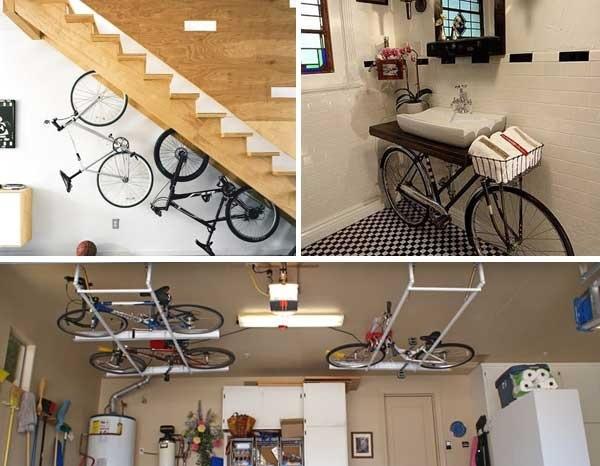 จะเก็บจักรยานอย่างไรสำหรับบ้านพื้นที่จำกัด? 13 -