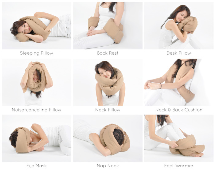 7c8da0654fbf1a53d58366d577b9e907 large FOREVER PILLOW: One pillow, endless possibilities