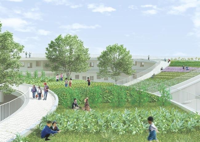 Farming Kindergarten..โรงเรียนแนวยั่งยืน ให้เด็กๆวิ่งเล่นและเรียนรู้รอบๆสวนผัก 13 - green building