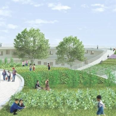 Farming Kindergarten..โรงเรียนแนวยั่งยืน ให้เด็กๆวิ่งเล่นและเรียนรู้รอบๆสวนผัก 14 - green building