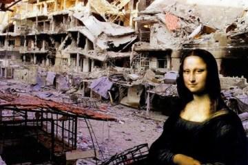 ภาพศิลปะระดับโลก กับซากปรักหักพัง ...ภาพสะเทือนใจต่อสงครามกลางเมืองในซีเรีย 6 - Graffiti
