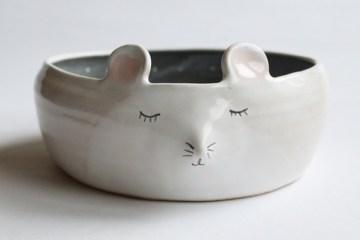 งานเซรามิคจานชามรูปสัตว์น่ารักๆ สร้างสรรค์ได้อย่างงดงาม 8 -