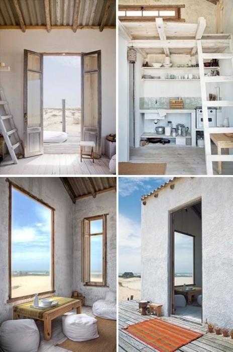 25570128 081911 บ้านในเขตทุรกันดาร กลางทะเลทราย ก็ยังดูดีได้