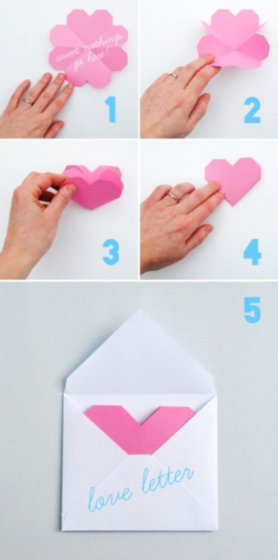 heart notes 2 DIY.Card and Paper wrap for Valentines ❤
