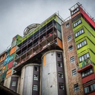 หอพักนักศึกษาราคาประหยัดสร้างจากไซโลเก่า และตู้คอนเทนเนอร์ ใช้แล้ว 26 - South Africa