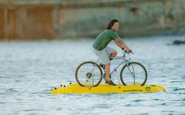 25570206 141613 Baycycle..ชุดประกอบให้จักรยานวิ่งได้ในน้ำ