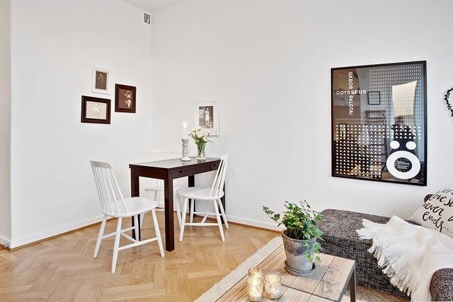 """ห้องพัก 29 ตร.ม. เล็กจริงหรือ? ไอเดียสวีเดนเปลี่ยน """"ห้องเล็กๆ"""" ให้กลายเป็น """"บ้าน"""" 18 - 100 Share+"""