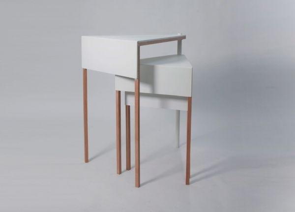 25570227 105657 โต๊ะจิ๋ว..ประหยัดพื้นที่ เปลี่ยนหน้าที่ตามระดับความสูง