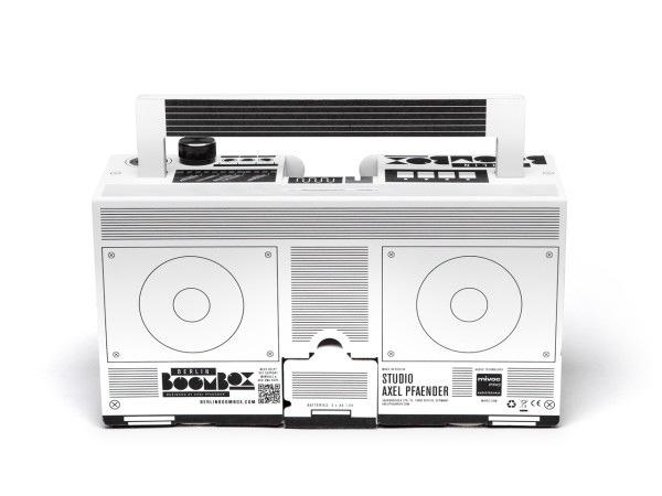 25570303 194853 ลำโพงสมาร์ทโฟน จากกระดาษกล่อง ในแบบ Boombox ของยุค80