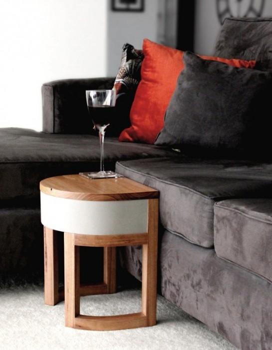 25570306 193934 TABLES FOUR TWO โต๊ะเก้าอี้ 2ชุด ซ้อนเรียงกันอย่างฉลาด สำหรับบ้านพื้นที่จำกัด
