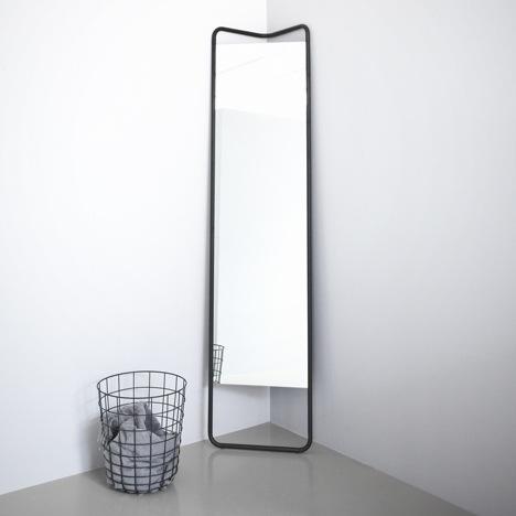 กระจกประหยัดพื้นที่ ใช้แขวนของได้ โดยKaschkasch Cologne  13 - กระจก