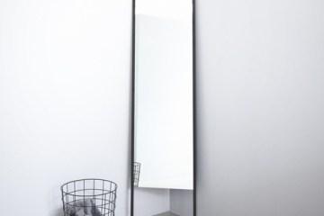 กระจกประหยัดพื้นที่ ใช้แขวนของได้ โดยKaschkasch Cologne  8 - กระจก