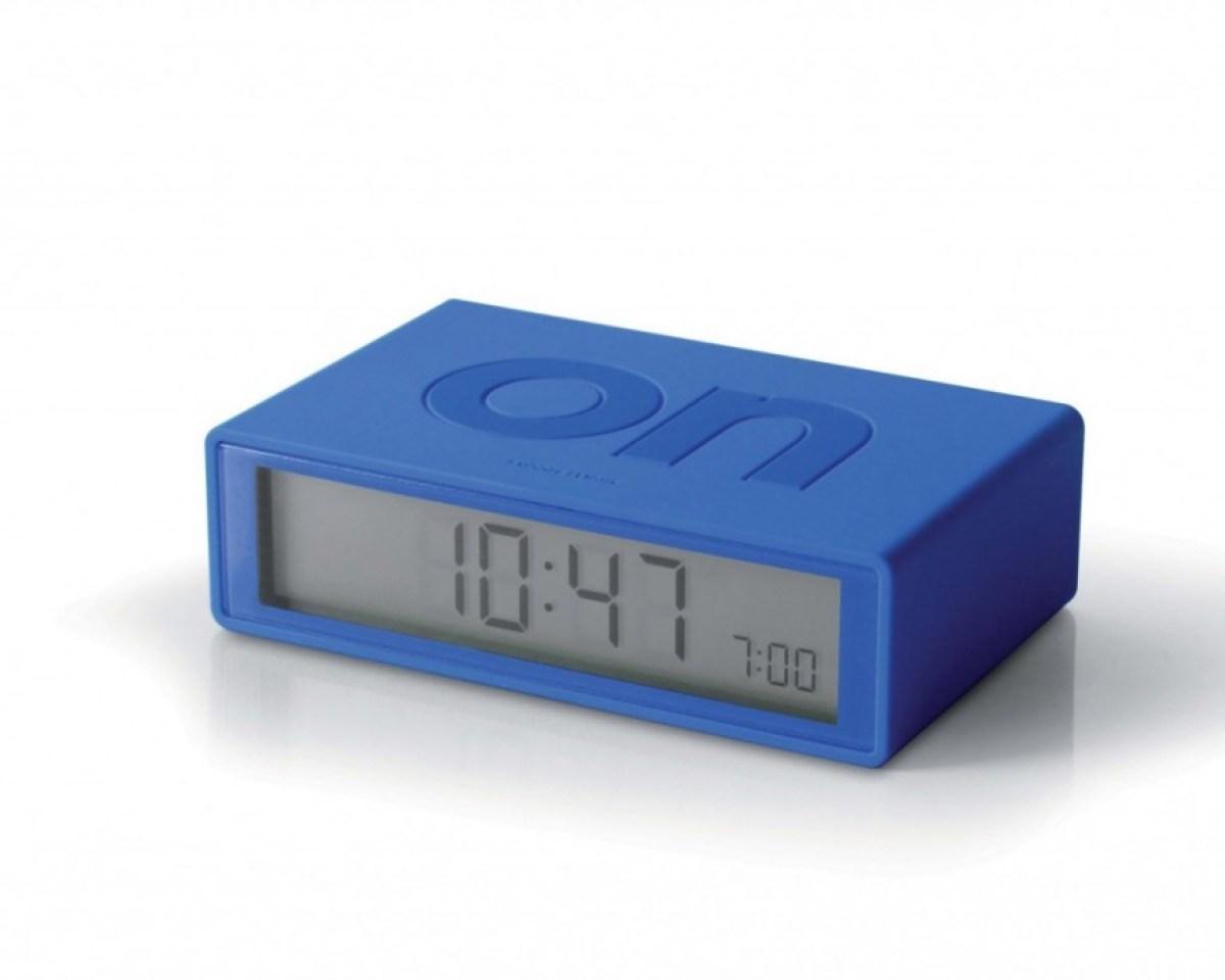 LR130B1 1 2 1 FLIP alarm clock turns off by turning it over