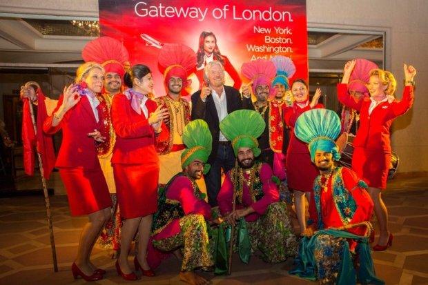 atlantic india launch 750x500 10 เทคนิคเพื่อความสำเร็จ จาก Richard Branson เจ้าของอาณาจักร Virgin