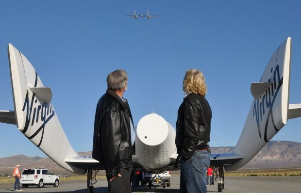 richard galactic flight sky 650x418 10 เทคนิคเพื่อความสำเร็จ จาก Richard Branson เจ้าของอาณาจักร Virgin