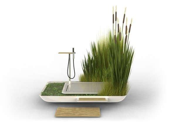 25570405 083256 Eco Shower รีไซเคิลน้ำจากการอาบมาหล่อเลี้ยงต้นไม้ที่อยู่รอบๆ
